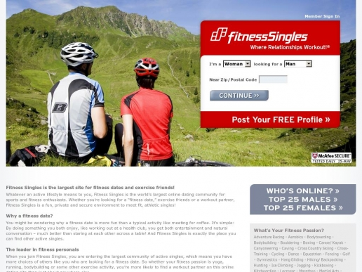 fitness-singles.com thumbnail