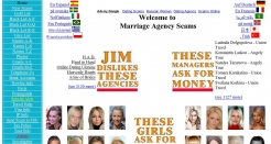 marriageagencyscams.com thumbnail