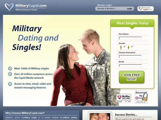 military dating web sites