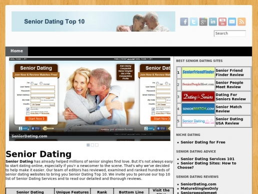 sawmill senior dating site Seniorpeoplemeetcom is a dating site that caters to adults who are over 50 years in age the purpose of the site is to help seniors meet and date the age restriction helps to ensure that people are pooled in with people who also share the same interests.
