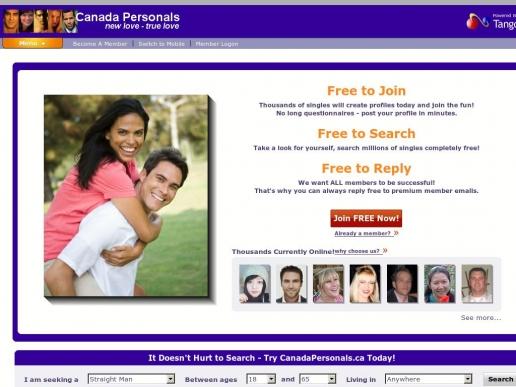 canadapersonals.ca thumbnail
