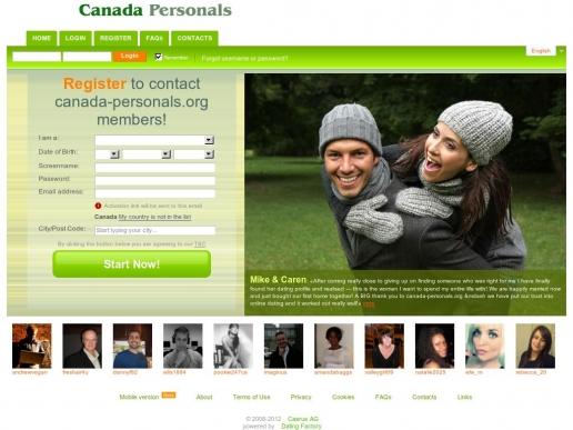 canada-personals.org thumbnail