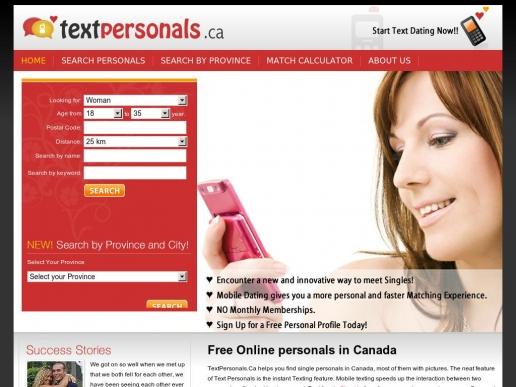 textpersonals.ca thumbnail