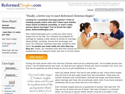 reformed online dating Religion settings on eharmony, online dating surveys because faith can be deeply personal and difficult to organize into simple categories, it is a sensitive yet powerful setting device.