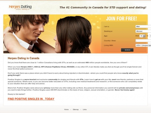 herpes dating site canada The best dating site for people with herpes in canada - join free now meet & date people with herpes in canada, toronto, vancouver and other areas.