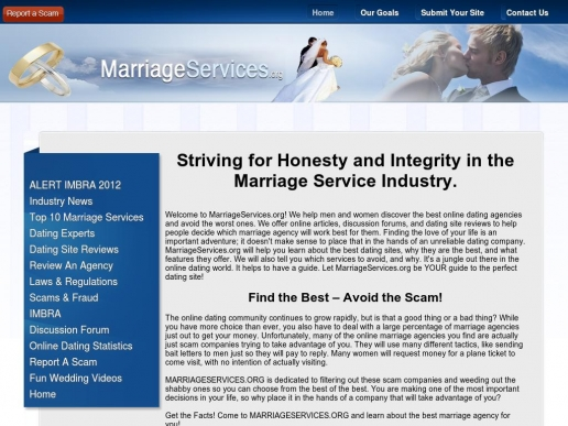 marriageservices.org thumbnail