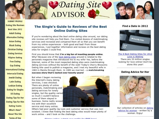 dating-site-advisor.com thumbnail