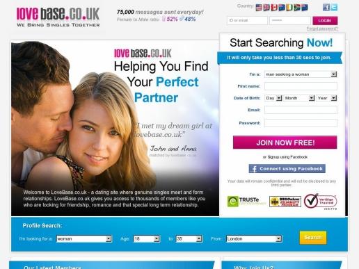 lovebase.co.uk thumbnail
