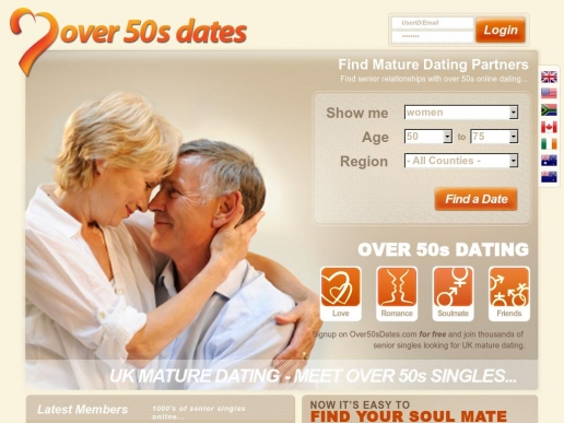 Online dating for over 50