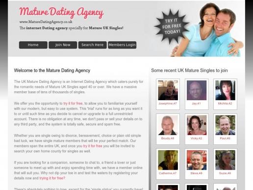 maturedatingagency.co.uk thumbnail
