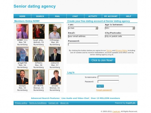 senior-dating-agency.org.uk thumbnail