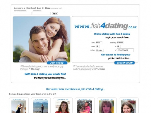 Dating sites with the word fish in it