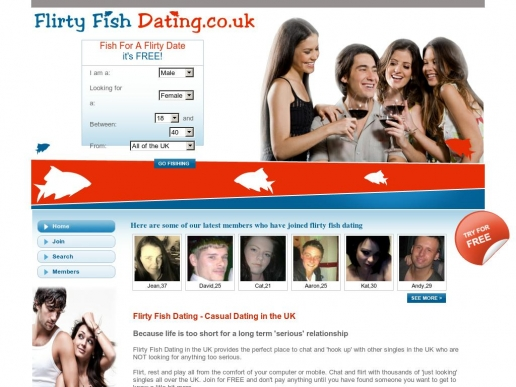 flirtyfishdating.co.uk thumbnail
