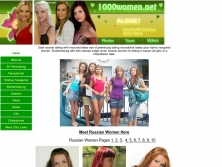 1000women.net thumbnail