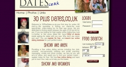 30plusdates.co.uk thumbnail