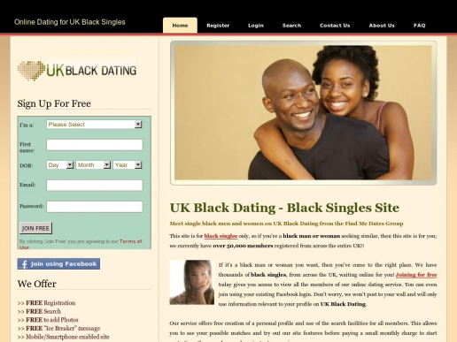 Dating websites for black singles uk