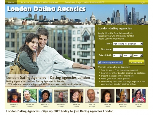 dating agencies for professionals uk