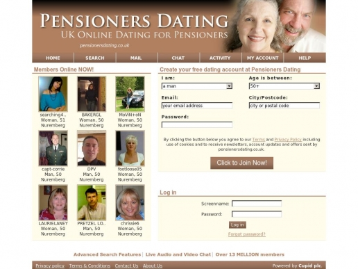 pensionersdating.co.uk thumbnail