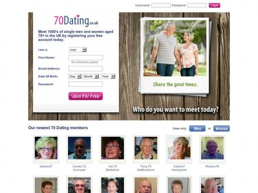 70dating.co.uk thumbnail