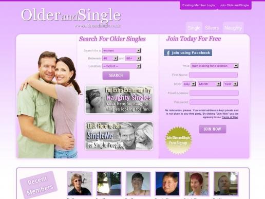 olderandsingle.co.uk thumbnail