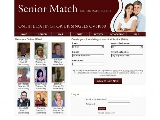 seniormatch.co.uk thumbnail
