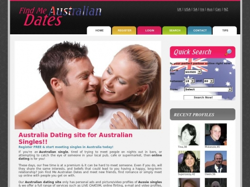 Online dating summary in Sydney