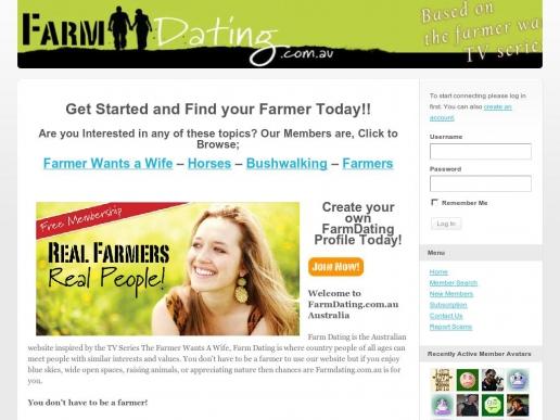 farmer wants a wife dating website