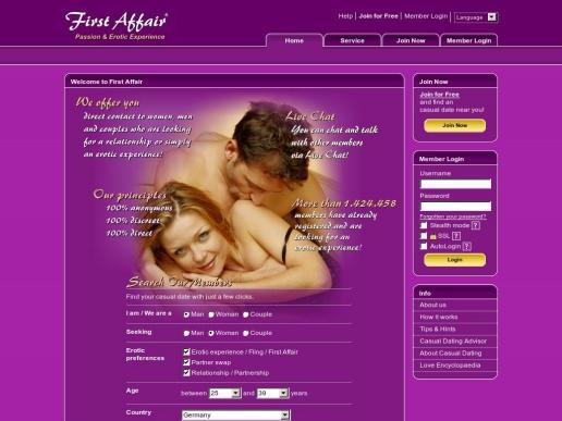 Affair dating websites