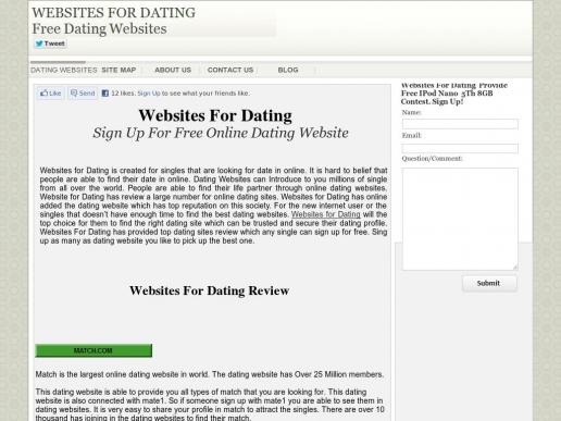 websitesfordating.org thumbnail