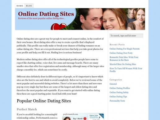 how many internet dating sites are there