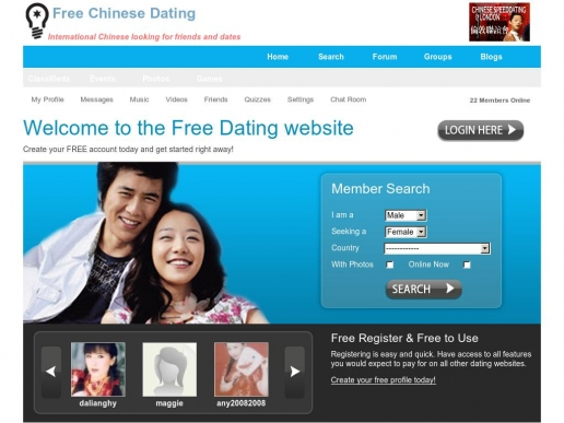 Free chinese dating sites uk