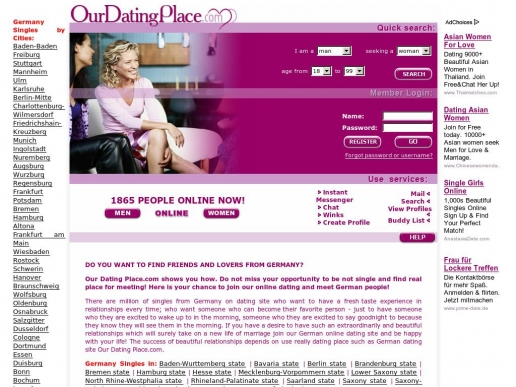mobile dating site in germany