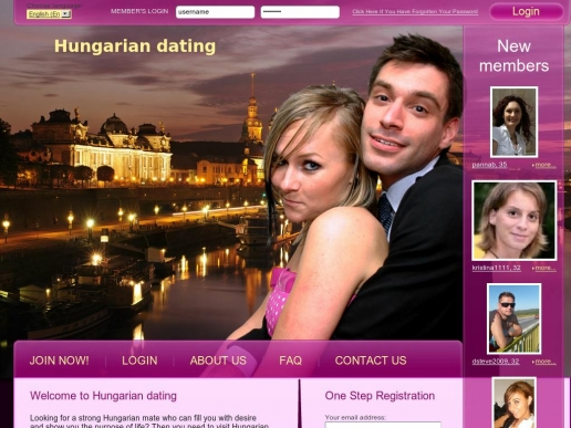 hungary dating site Online dating become very simple, easy and quick, create your profile and start looking for potential matches right now hungarian dating site - online dating become very simple, easy and quick, create your profile and start.