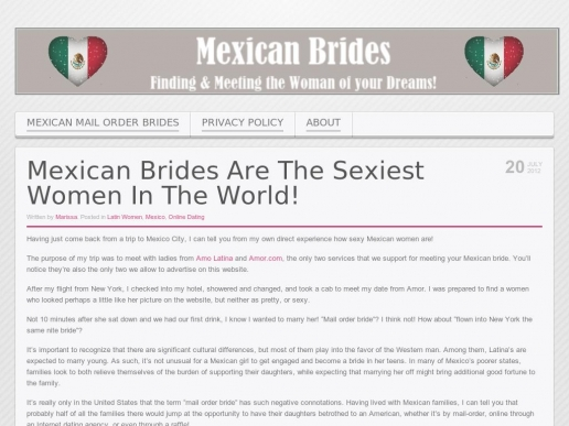 mexicanbrides.org thumbnail