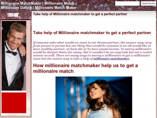 millionaire-match-maker.org thumbnail