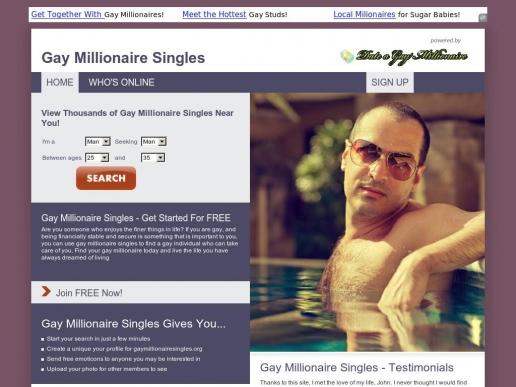 gaymillionairesingles.org thumbnail