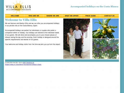 villaellis.co.uk thumbnail