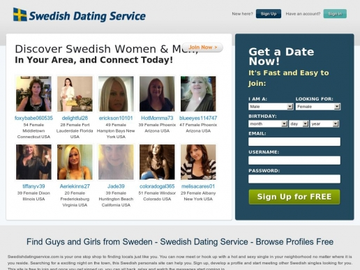 free swedish dating sites Browse photo profiles & contact from australia on australia's #1 dating site rsvp free to browse & join.