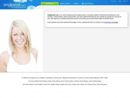 Singlesnet chat room