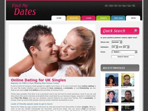 findmedates.co.uk thumbnail