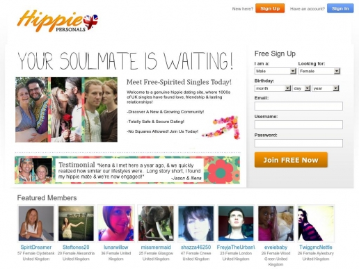 hippiepersonals.co.uk thumbnail