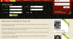 datingforover50.com thumbnail