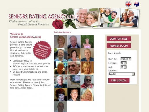 seniorsdatingagency.co.uk thumbnail