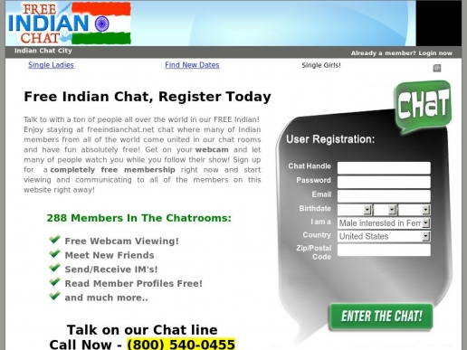 freeindianchat.net thumbnail