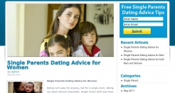 singleparentsdatingadvice.com thumbnail