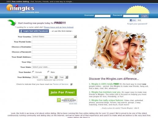 mingles.com thumbnail