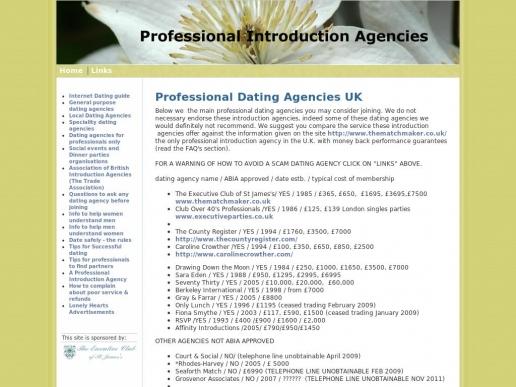 professionalintroductionagencies.co.uk thumbnail