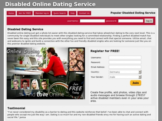 Best dating website for disabled