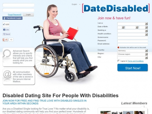 Disabled dating sites uk free in Melbourne