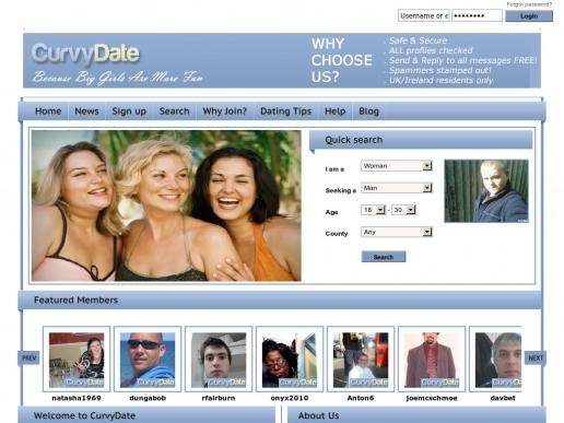 curvydate.co.uk thumbnail